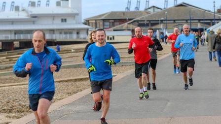 Organisers were pleased with the turnout to Suffolk's parkruns on New Years' Day Picture: SIMON HOWL