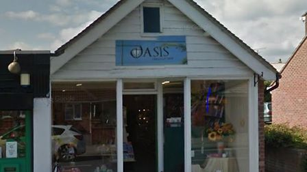 Oasis Christian Shop in Tiptree. Picture: Google Streetview