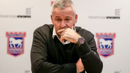 Town manager Paul Lambert will speak to the media today. Picture: STEVE WALLER WWW.STEPHENWAL