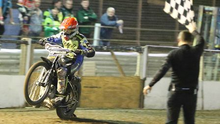Danny King will return to the Ipswich Witches in 2019. Picture: STEVE WALLER