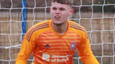 Harry Wright has signed a new deal with Ipswich Town. Picture: ROSS HALLS