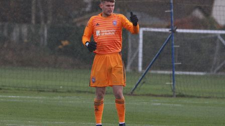Wright is the son of former Ipswich goalkeeper, Richard. Picture: ROSS HALLS