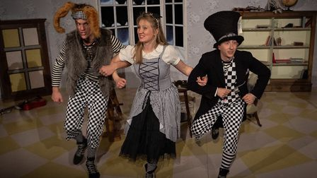 Alice in Wonderland is the lively and, at times, wonderfully surreal Christmas show from Red Rose Ch