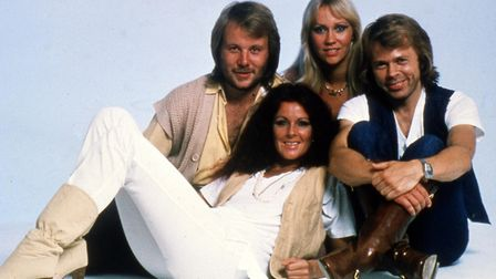 ABBA were guest stars on the 1978 Mike Yarwood Christmas Show Picture: AP Photo