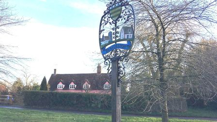 Brandeston's village news has been viewed by a Russian 'bot' Picture: ANDREW HIRST