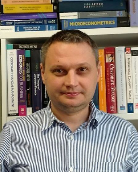 Oleksandr Talavera has researched social media interference in politics Picture: CONTRIBUTED