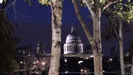 Drones can fly over St Paul's Cathedral which is 35ft under their maximum allowed height of 400ft. P