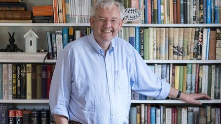 Philip Rhys Evans, the former Bury St Edmunds doctor, who has a hit with his A Country Doctor's Comm