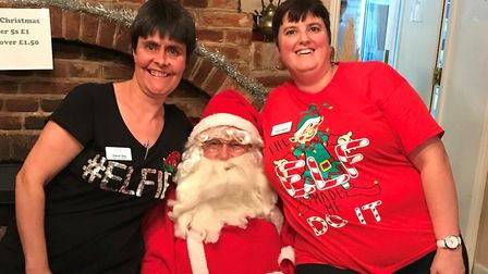 Barking Hall's Christmas fete raised £440 for its residents Picture: HEALTHCARE HOMES
