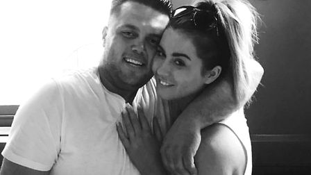 Reis Farley-Hearn with his partner. Picture: ESSEX POLICE