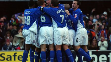 Town extended their lead at the top of the Championship by five points on this day in 2004