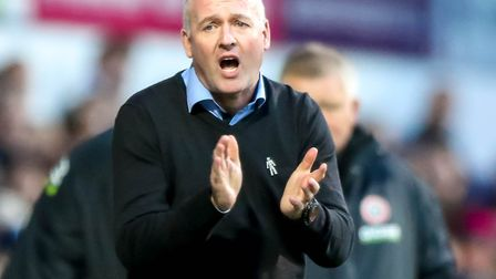 Paul Lambert knows January is a 'huge' month for Ipswich Town. Photo: Steve Waller