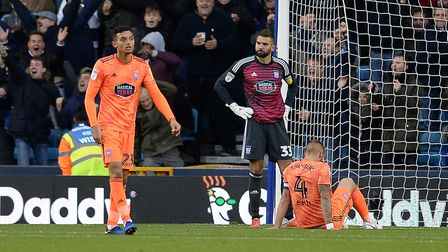 Ipswich Town lost 3-0 at Millwall at The Den back in October. Photo: Pagepix