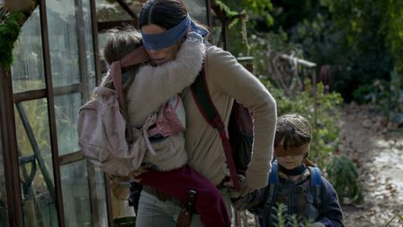 A scene from the thriller Bird Box. Picture: NETFLIX/OUTNOW