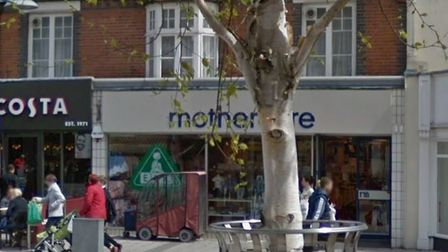 Mothercare in Clacton. Picture: Googel Streetview