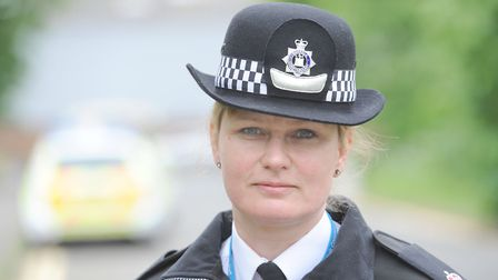 Supt Kerry Cutler from Suffolk police Picture: PHIL MORLEY