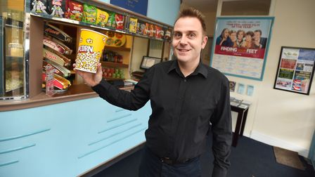 David Marsh manager of The Regal in Stowmarket puts the theatre's success down to brilliant movies a
