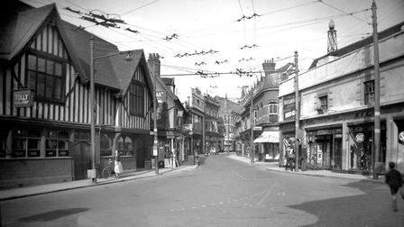 Do you recognise this Ipswich scene? Picture: DAVID KINDRED