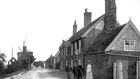 Where were these locals photographed early in the twentieth century? Picture: DAVID KINDRED