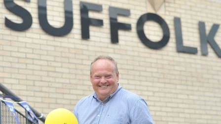 BBC Radio Suffolk's Mark Murphy is gearing up for Suffolk Day 2019 Picture: SARAH LUCY BROWN