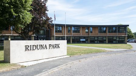 Riduna Park at Melton, near Woodbridge. This is the home of Suffolk Coastal council - and will becom