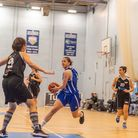 Becky Harwood-Bellis sends the defence the wrong way in Ipswich's win over Solent. Picture: PAVEL KR