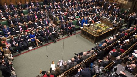 MPs are set to start debating the Prime Minister's Brexit deal again on Wednesday. Picture: UK Parli