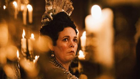 Olivia Colman in The Favourite, a role which won her the Best Actress Golden Globe (Comedy or Musica