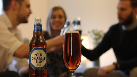 Old Speckled Hen low alcohol beer which has just been launched by Greene King Picture: TOM OFFORD