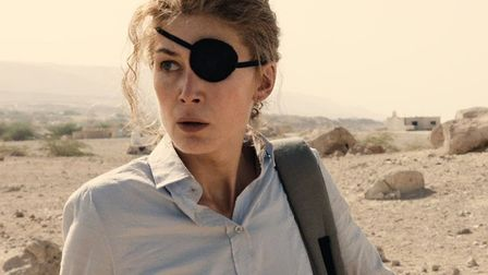 Rosamund Pike stars as Sunday Times foreign correspondent Marie Colvin in A Private War Photo: Altit
