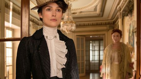 Keira Knightley plays French author Sidonie-Gabrielle Colette in the new bio-pic Photo: BFI