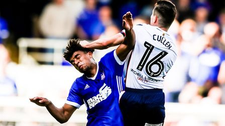Tom Adeyemi has barely played for the Blues. Picture: STEVE WALLER