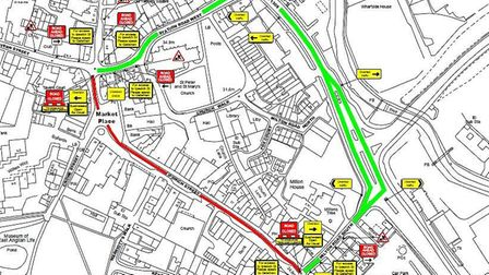 Suffolk Highways have written to residents about the works Picture: SUFFOLK HIGHWAYS