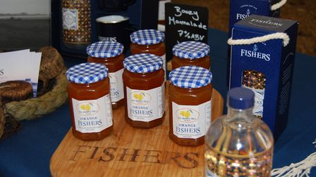 Fishers Gin at Snape Maltings Christmas Farmers' Market Picture: Snape Farmers' Market