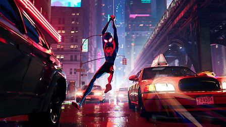 Shameik Moore in Spider-Man: Into the Spider-Verse. Picture: SONY PICTURES ANIMATION/CTMG INC/SONY P