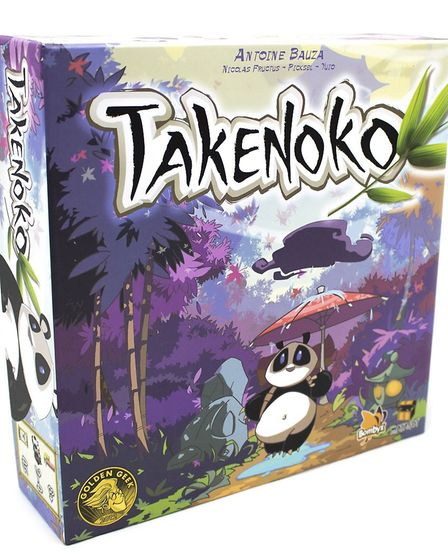 Takenoko is predicted to be one of the top board games this Christmas. Picture: ZATU GAMES