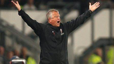 Sheffield United manager Chris Wilder has been critical of his side in recent weeks. Photo: PA