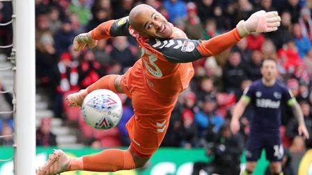 Middlesbrough and Ireland goalkeeper Darren Randolph has kept 13 clean sheets for club and country t