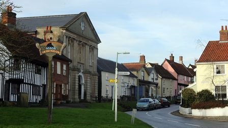 Plans for a 295 home development in Debenham has been refused by a planning committee Picture: PHIL