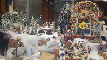 Sudbury best dressed Christmas window competition winner Angelo Smith Picture: SUDBURY TOWN COUNCIL