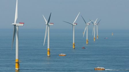 Great Gabbard Offshore Wind Farm. Picture: CONTRIBUTED