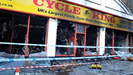 Cycle King has been operating from a temporary home on Moreton Hall Picture: ANDY ABBOTT