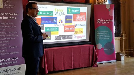 Tim Ellett, marketing director speaking at a previous Marketing Centre event. Picture: MARK PEARSON