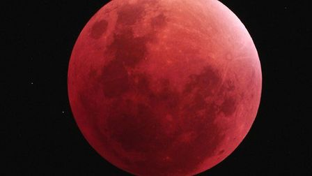 A lunar eclipse is due to take place on January 21. Picture: DAVID MURTON/DARSHAM ASTRONOMICAL SOCIE