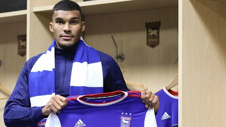 Ipswich Town have signed striker Collin Quaner from Huddersfield Town until the end of the season. P