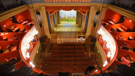 The Theatre Royal Bury St Edmunds which is marking its 200th anniversary this year. Picture: GREGG B