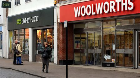 It's January, 10 years ago. Sudbury's North Street Woolworths stands forlorn and the axe hovers over