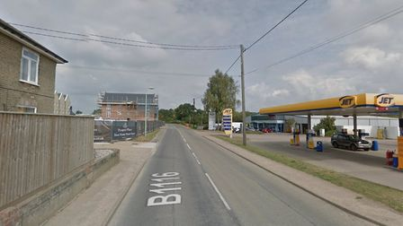 A woman has been taken to hospital after a collision in Framlingham Picture: GOOGLE MAPS