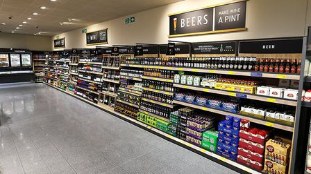 Aldi in Bury St Edmunds has a new look Picture: SHAUN FELLOWS/SHINE PIX
