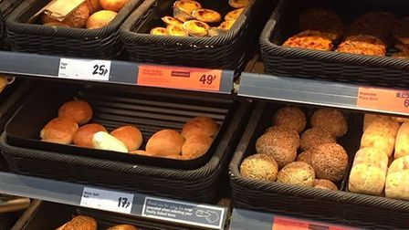 The bakery section at Lidl. Pic: www.edp24.co.uk